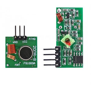 RF WIRELESS TX & RX MODULE