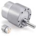 12V 60RPM DC MOTORS HIGH TORQUE METAL GEARED